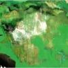 <br/>óleo, resina y papel oro sobre lienzo<br/> tríptico 60x73 / 60x73 / 60x73 cm.